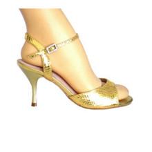 Online Tango Shoes - Vida Mia - Ursula (performance series, faux reptile skin)