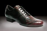 2x4 al pie San Telmo - Negro Malbec (fully leather) - Tango Shoes