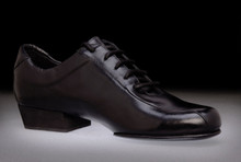 Online Tango Shoes - 2x4 al pie Villa Urquiza - Negro (fully leather)