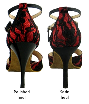 Women's heel types