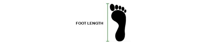 Tango shoes foot length