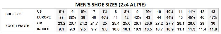 Tango shoes men sizes