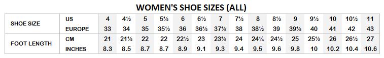 Tango shoes women sizes