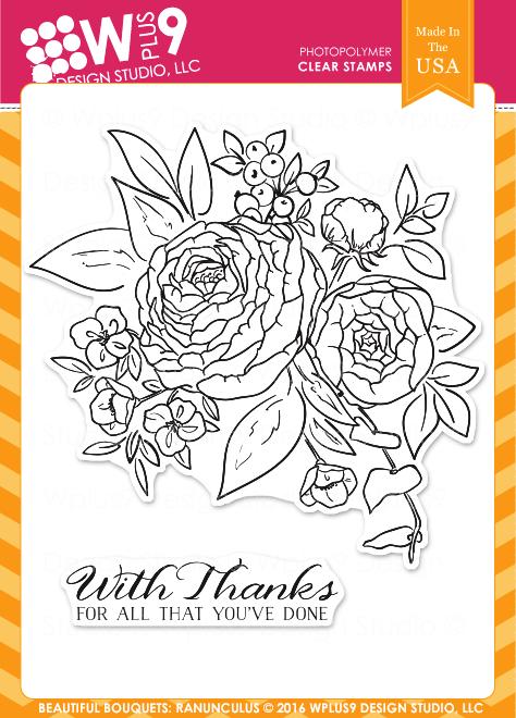 Wplus9 Beautiful Bouquet: Ranunculus