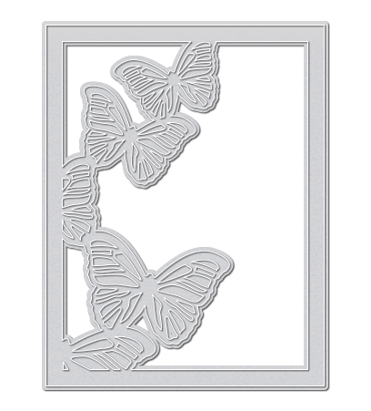Large Butterfly Frame Die