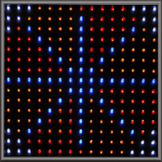 Single LED Panel - Quad-color