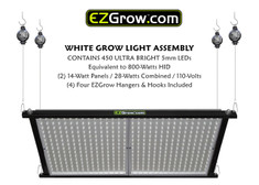 Double LED Panel Assembly with EZGrow Hangers