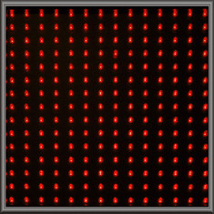 Single LED Panel - Red