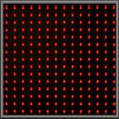 Single LED Panel - Red