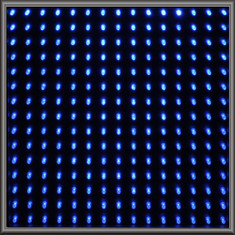 Single LED Panel - Blue