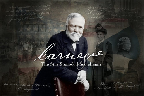 Musical Theatre: 'Carnegie, the star spangled Scotchman' by Ian Hammond Brown