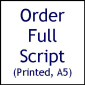 Printed Script (Soap Soup)