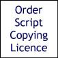 Script Copying Licence (Murder Weekend)