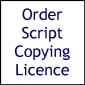 Script Copying Licence (Flushed)
