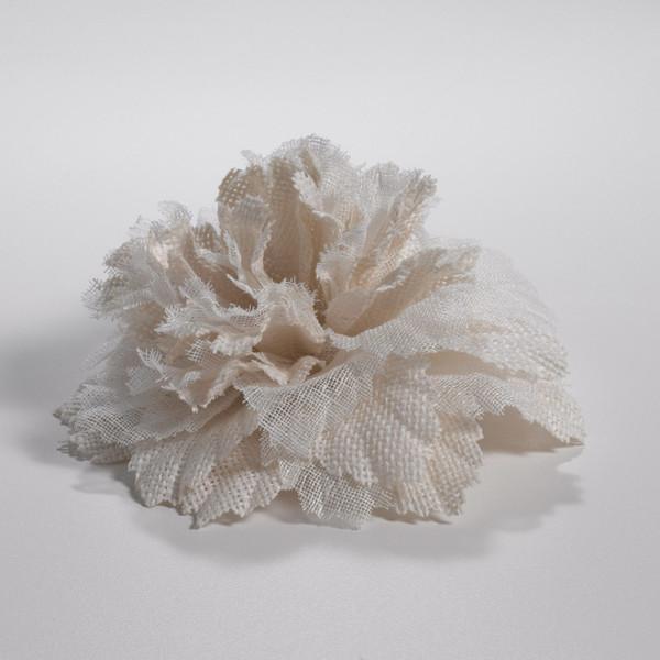 Couture Dreams Fleur de Ivory Fabric Flower
