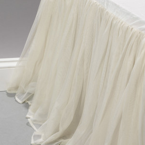 Whisper Ivory Bed Skirt