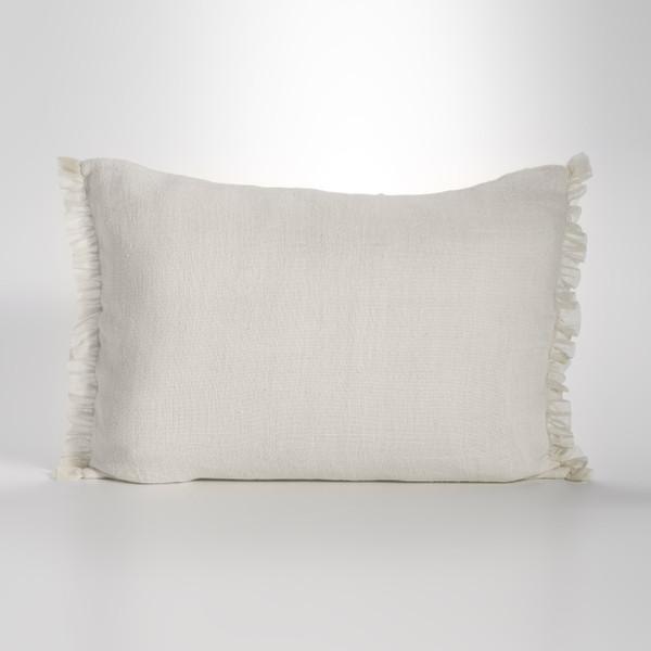 Couture Dreams Whisper Ivory Linen Sham