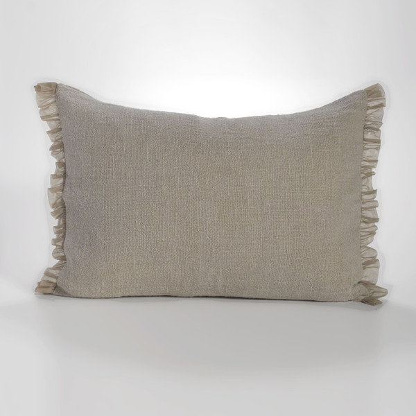 Couture Dreams Whisper Flax Linen Standard Sham