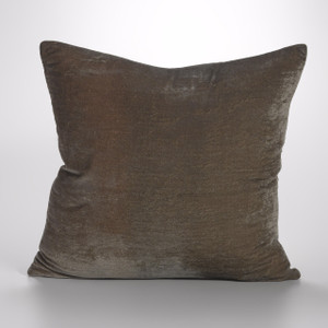 Couture Dreams Luscious Soft Earth Silk Velvet Decorative Pillow