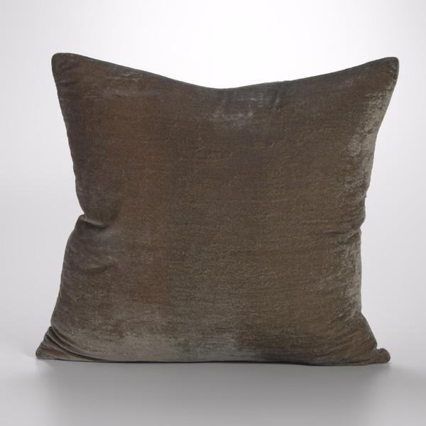 Couture Dreams Luscious Soft Earth Silk Velvet Decorative Pillow