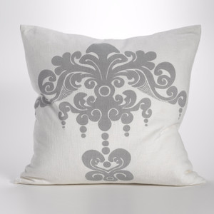 Couture Dreams Enchantique Platinum Decorative Pillow