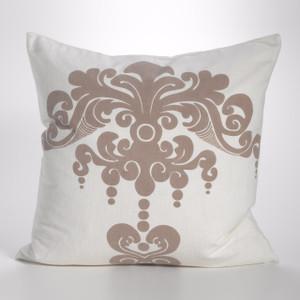 Couture Dreams Enchantique Ivory Sand Decorative Pillow