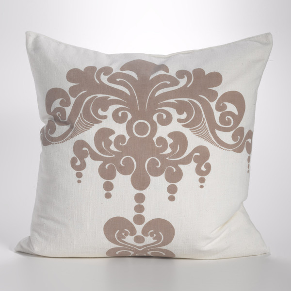 Couture Dreams Enchantique Ivory Sand Decorative Pillow