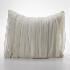 Couture Dreams Whisper Ivory Euro Sham