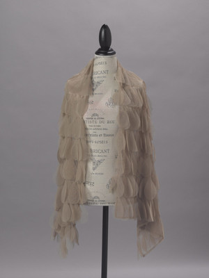 Couture Dreams Chichi Sable Petal  Scarf/Wrap