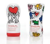 Tenga Keith Haring Edtion: Deep Throat, Soft Tube