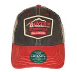 Linton Trucker Meshback Hat Black/Red Front