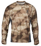 Browning Hell's Canyon Speed Plexus-FM LS Mesh Shirt ATACS-A/U Front