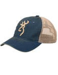 Browning Willow Snapback Hat Navy Front
