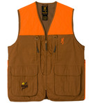 Browning Vest with Pheasants Forever Embroidery Front