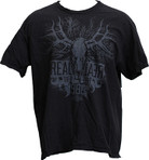 Realtree Grey Deer Skull Logo TShirt