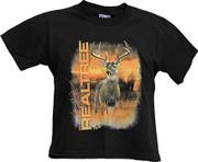 Realtree Youth Black TShirt