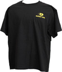 Mossy Oak Black/Yellow Logo TShirt