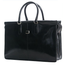 "Bella Fellini 17"" Double Compartment Bag PI029701 Black Front"