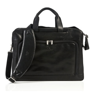 Napoli Laptop Zip-Around Briefcase PG010902 | Color Black | Main