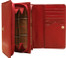 Ultimo Wallet with Credit Card and Coin Pocket PI421801 Open Red