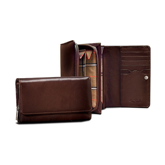 Ultimo Wallet with Credit Card and Coin Pocket PI421801 Open And Closed