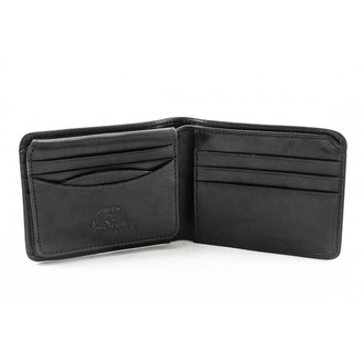 Prim Bi-Fold with ID Flap  PG418201 | Color Black | Open