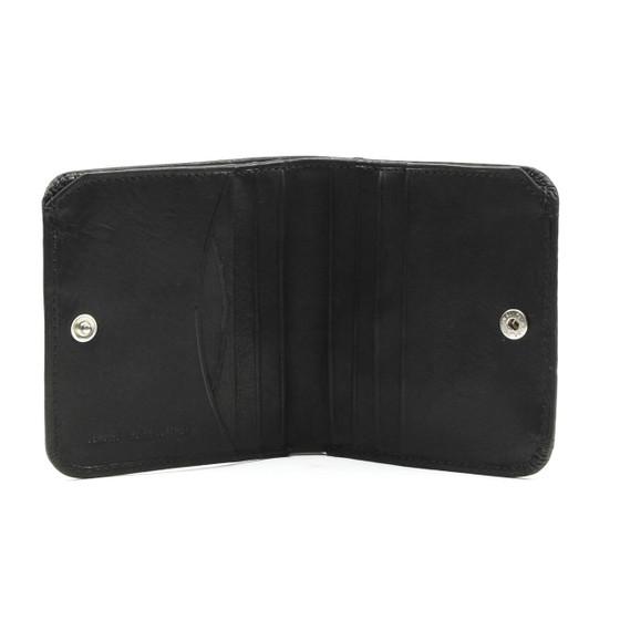 Prima Traditional Coin Wallet PG402002 | Color Black | Open