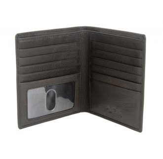 Executive Hipster Wallet with I.D. Window PC418301 Open