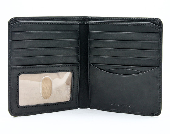 Prima Hipster Wallet with I.D. Window PG418301 | Black