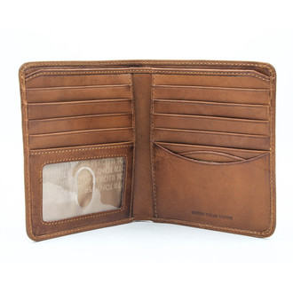 Prima Hipster Wallet with I.D. Window PG418301   Honey