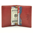 Ultimo Weekend Wallet PI411902 Open Red with Credit Cards