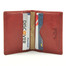 Ultimo Weekend Wallet PI411902 Open Red with Credit Card