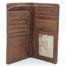 Prima Breast Secretary Men's Bi-Fold Wallet PG409001 | Color Cognac | Open
