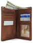 Prima Breast Secretary Men's Bi-Fold Wallet PG409001 |  Color Honey  | Full